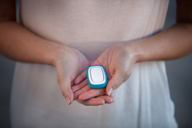 One click panic button for women safety